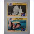 1983 Topps Greatest Olympians - Dawn Fraser + Shane Gould