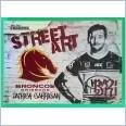 2021 NRL traders white Street arts card saw01 Patrick carrigan