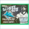 2021 NRL traders black Street arts card sab04 Ronaldo Mulitalo 🦈