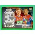 2021 NRL elite captains card C08 Brailey/Saifiti  Newcastle Knights