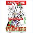 2014 NRL Premiers South Sydney Rabbitohs (Harv Time Poster)