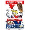 2013 NRL Premiers Sydney Roosters (Harv Time Poster)