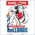 Canterbury Bulldogs Mascot (Harv Time Poster)