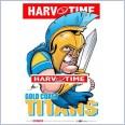 Gold Coast Titans Mascot (Harv Time Poster)