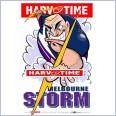 Melbourne Storm Mascot (Harv Time Poster)