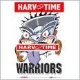 New Zealand Warriors Mascot (Harv Time Poster)