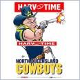 North Queensland Cowboys Mascot (Harv Time Poster)