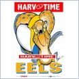Parramatta Eels Mascot (Harv Time Poster)