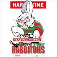 South Sydney Rabbitohs Mascot (Harv Time Poster)