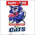 Geelong Cats Mascot (Harv Time Poster)