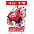 Melbourne Demons Mascot (Harv Time Poster)
