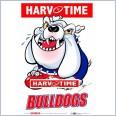 Western Bulldogs Mascot (Harv Time Poster)