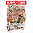 Premiers Players Print - Hawthorn Hawks (Harv Time Poster)