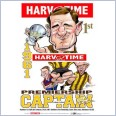 Graham Arthur - Hawthorn Hawks Premiership Captain (Harv Time Poster)