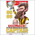 Michael Tuck - Hawthorn Hawks Premiership Captain (Harv Time Poster)