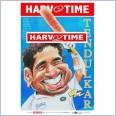 Sachin Tendulkar Cricket (Harv Time Poster)